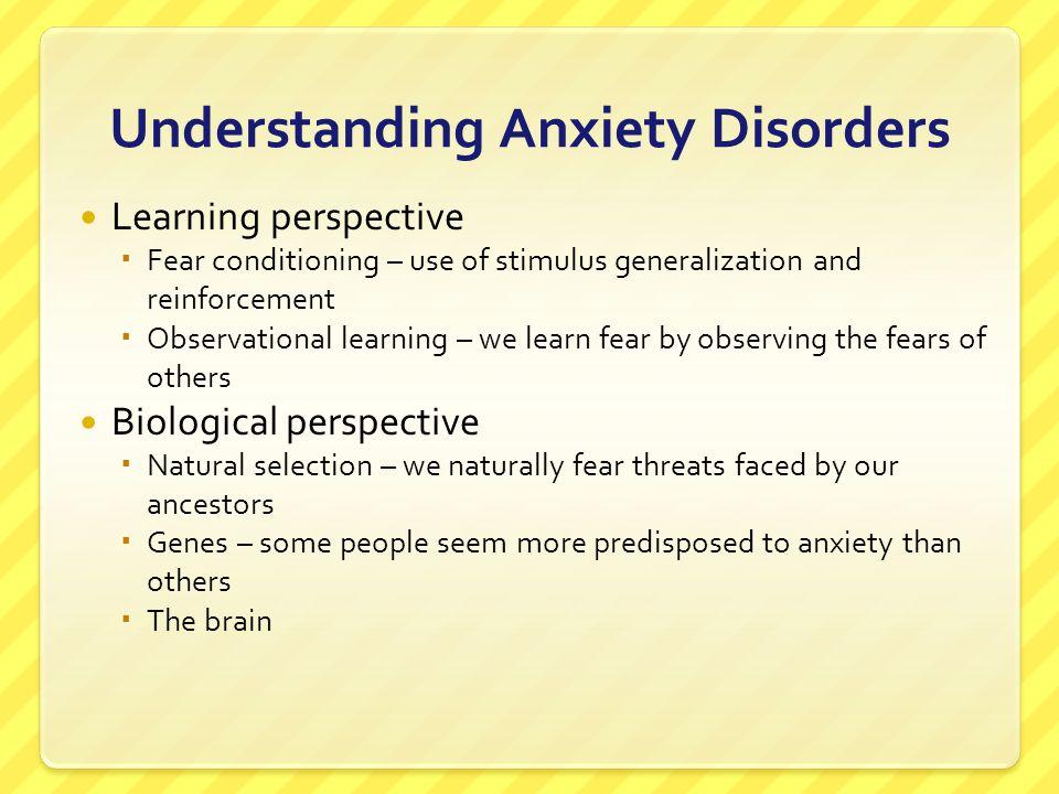Understanding Anxiety Disorders