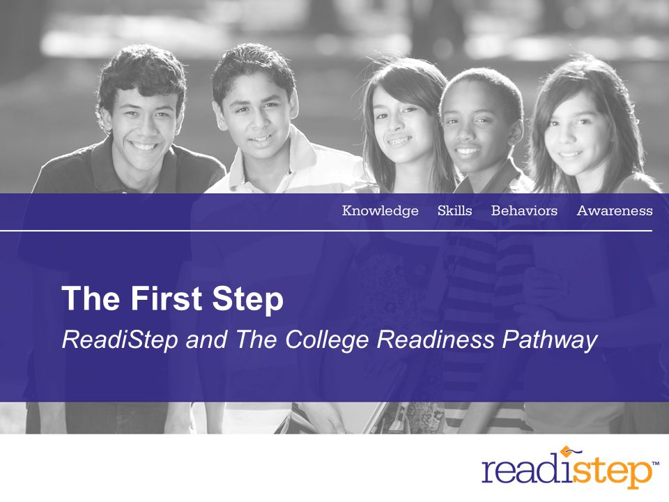 ReadiStep and The College Readiness Pathway