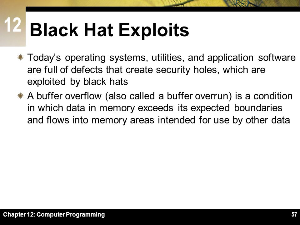 Black Hat Exploits