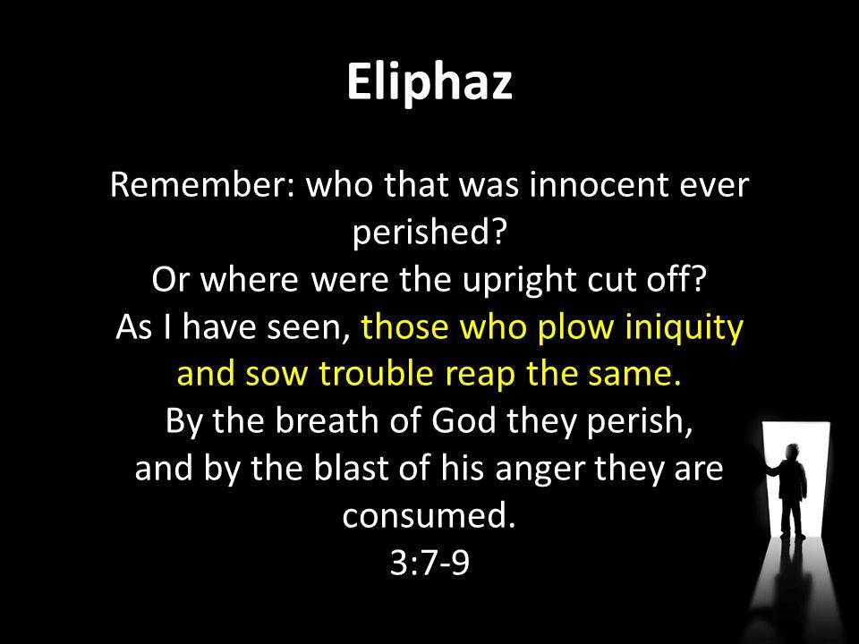 Eliphaz