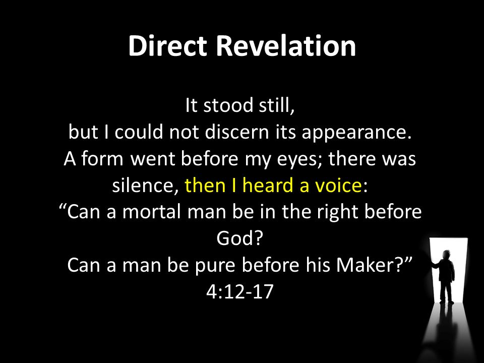 Direct Revelation
