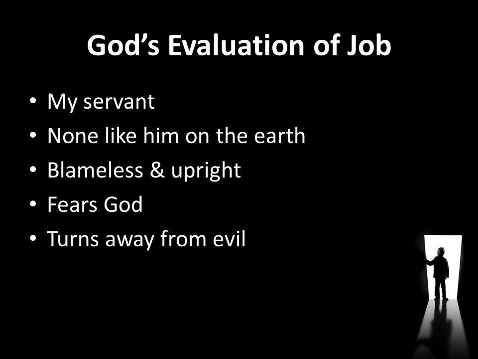 God's Evaluation of Job