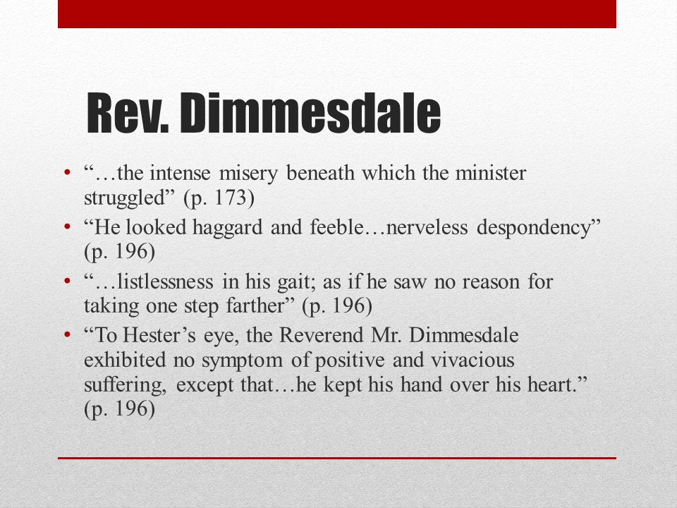 The Scarlet Letter Character Traits. - ppt video online ...
