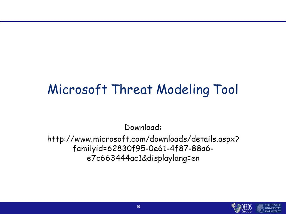 Microsoft Threat Modeling Tool