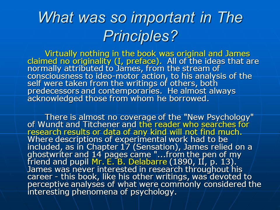 james the principles of psychology pdf
