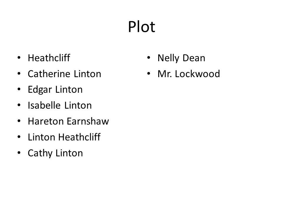 Plot Heathcliff Catherine Linton Edgar Linton Isabelle Linton