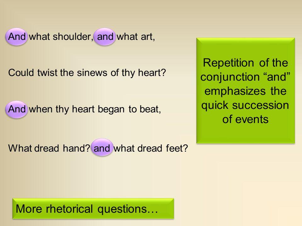 More rhetorical questions…