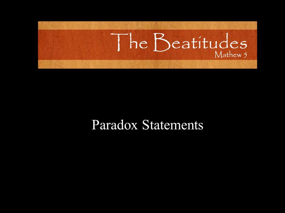 Paradox Statements