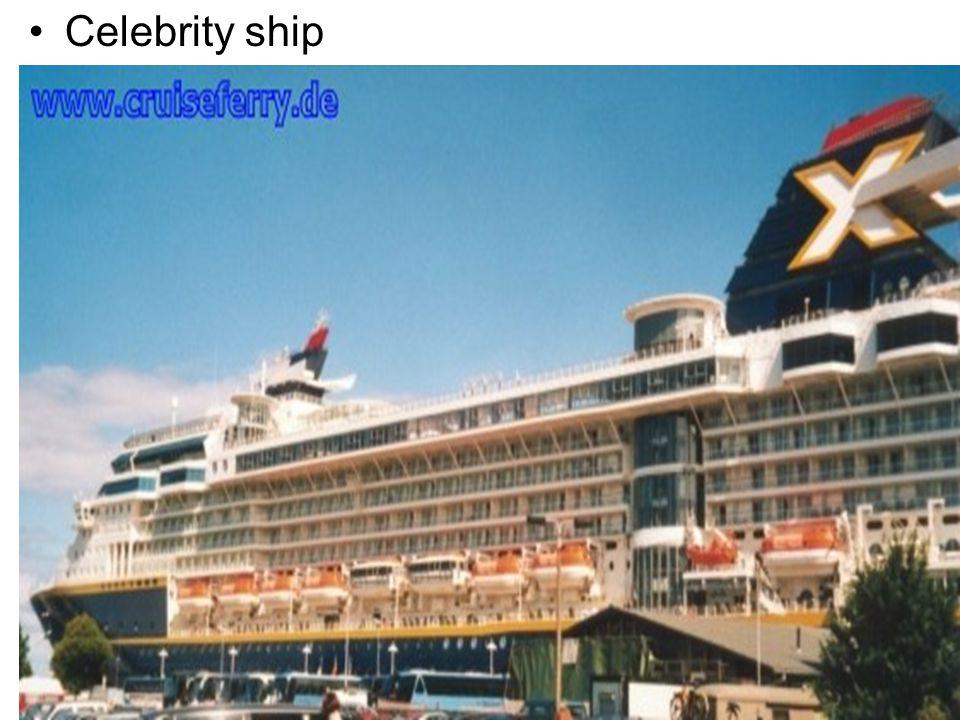 Celebrity ship