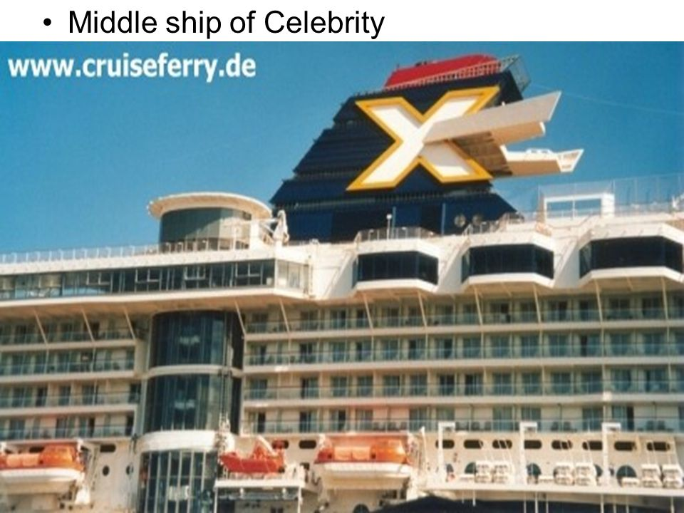 Middle ship of Celebrity