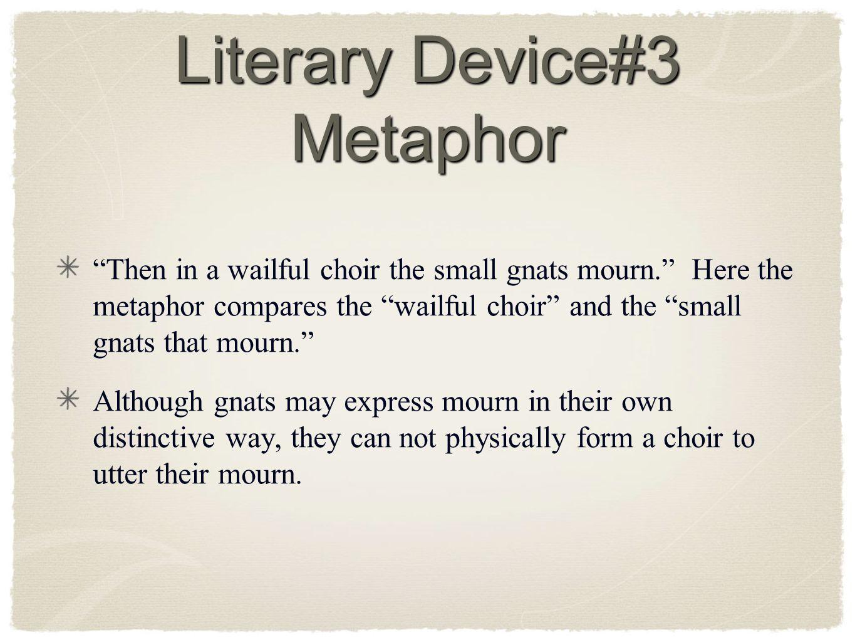 Literary Device#3 Metaphor