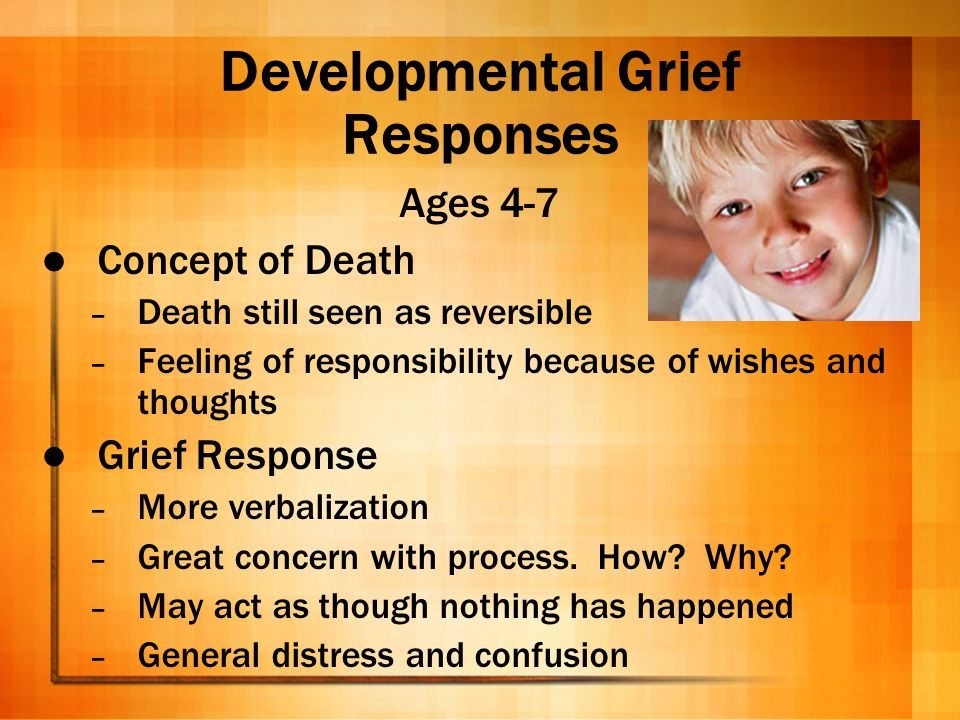 Developmental Grief Responses