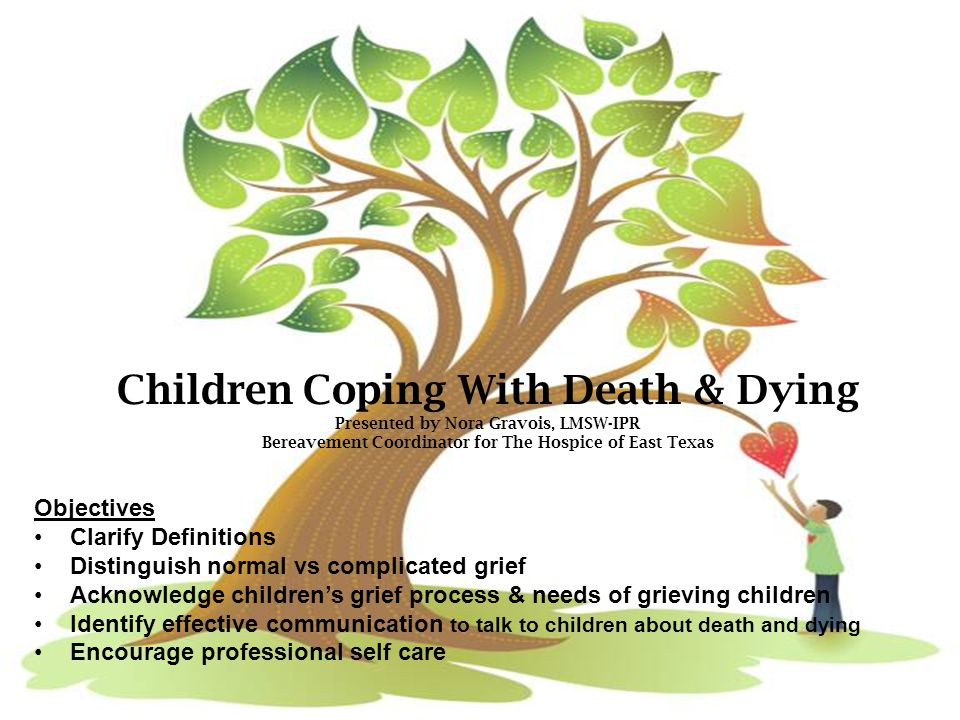 Children Coping With Death & Dying