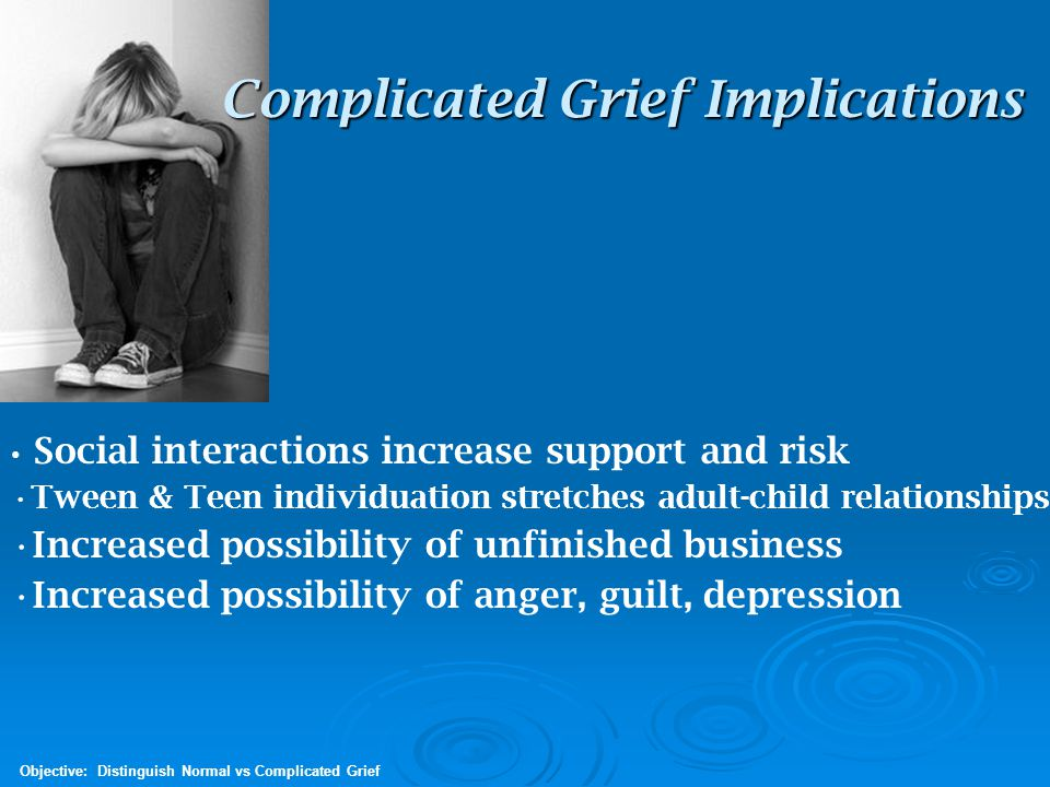 Complicated Grief Implications
