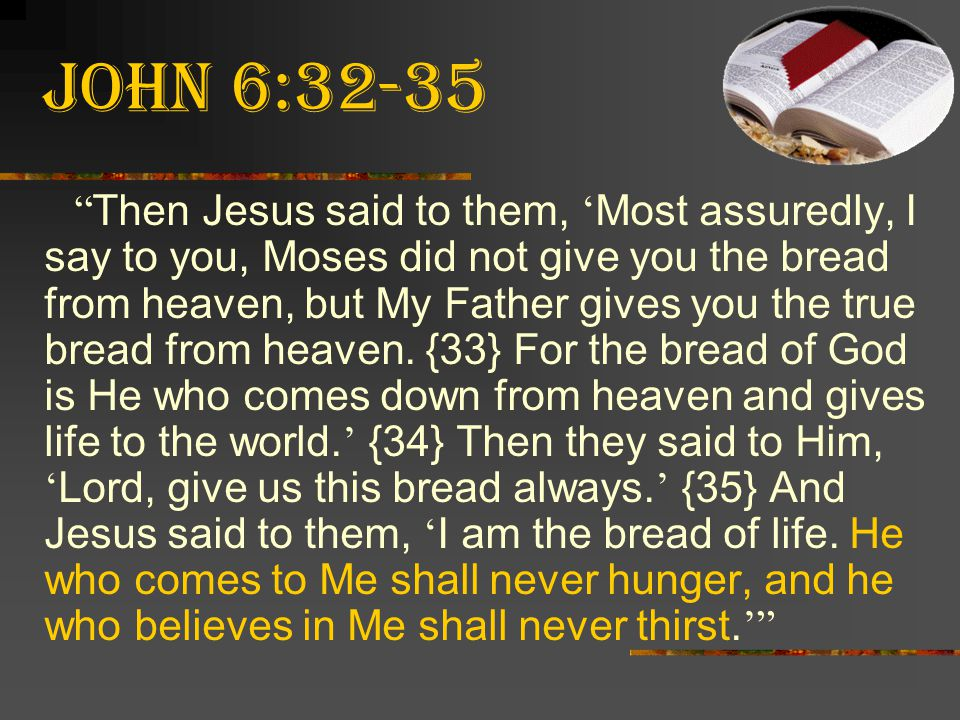 John 6:32-35
