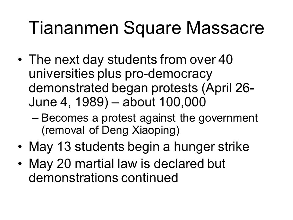 How Chinese Censorship Tries To Disappear References To Tiananmen Square