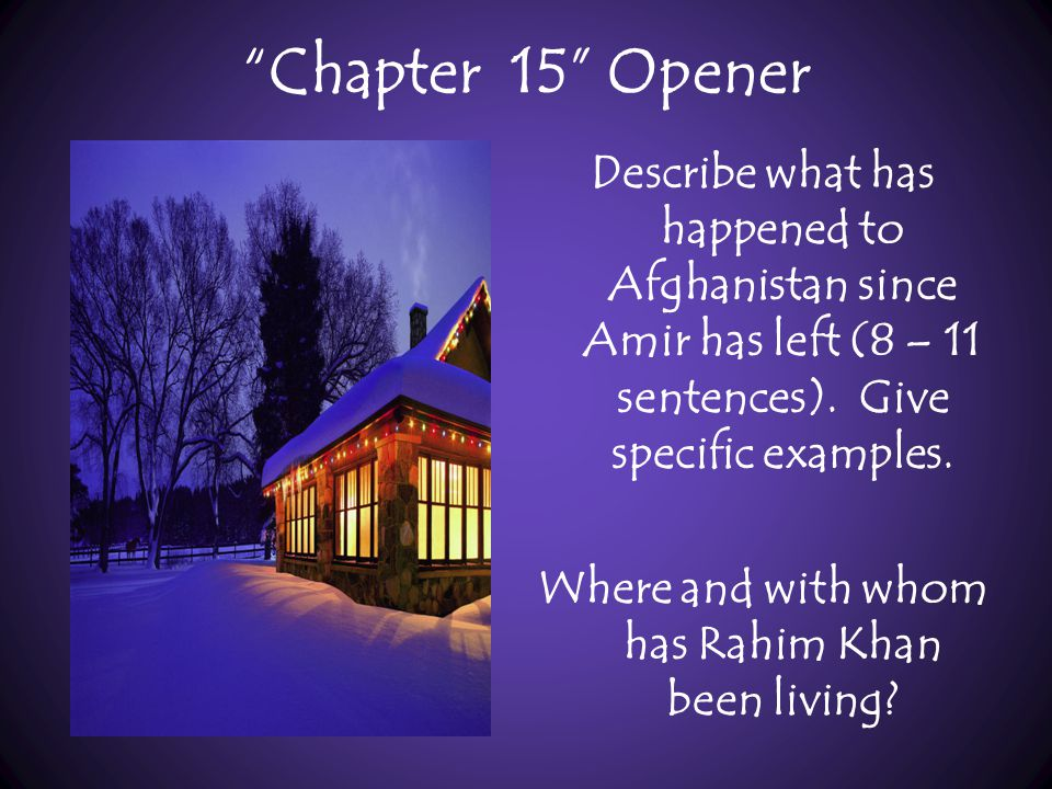 Chapter 15 Opener