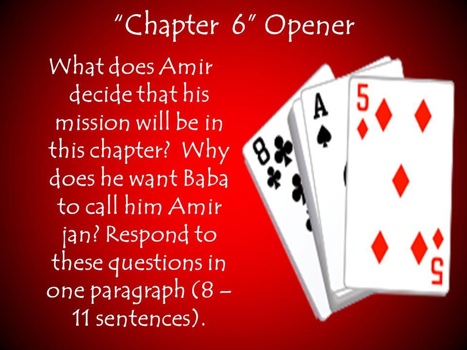 Chapter 6 Opener