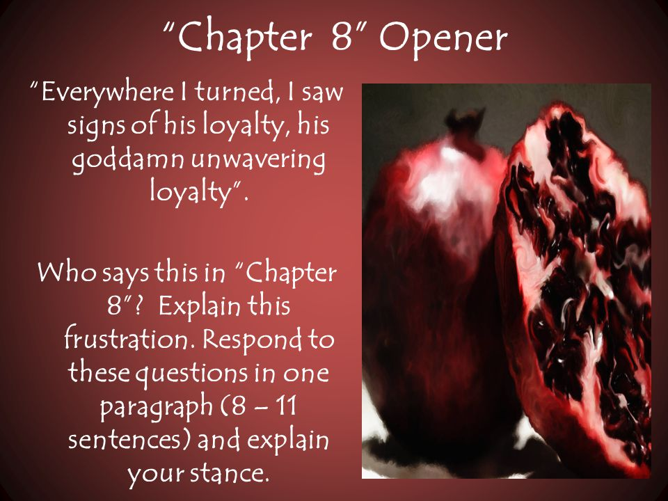 Chapter 8 Opener