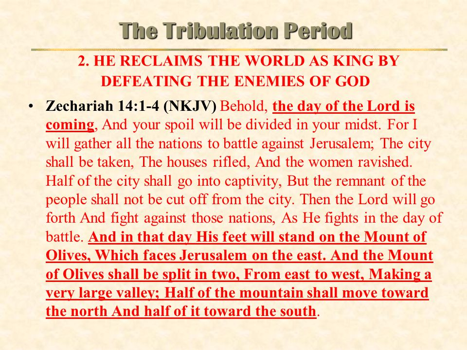 The Tribulation Period 2