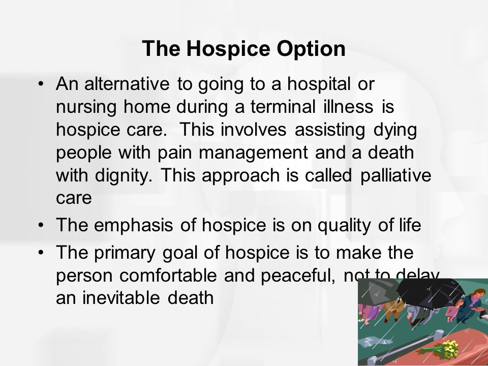 The Hospice Option
