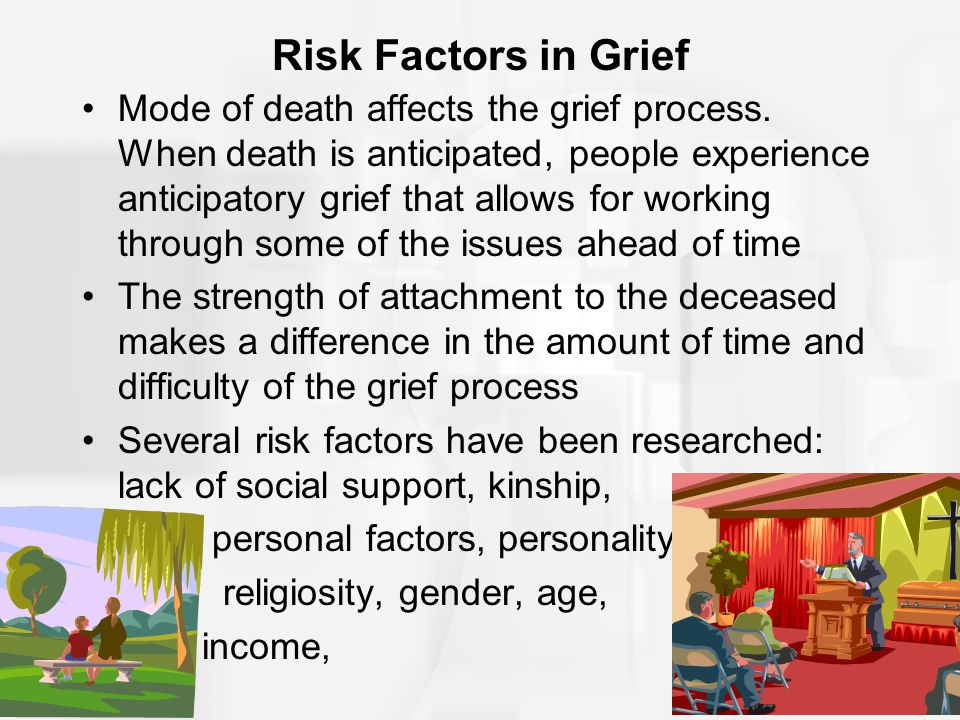 Risk Factors in Grief