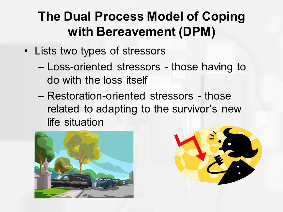 The Dual Process Model of Coping with Bereavement (DPM)