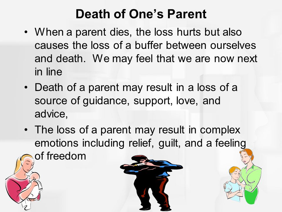Death of One's Parent