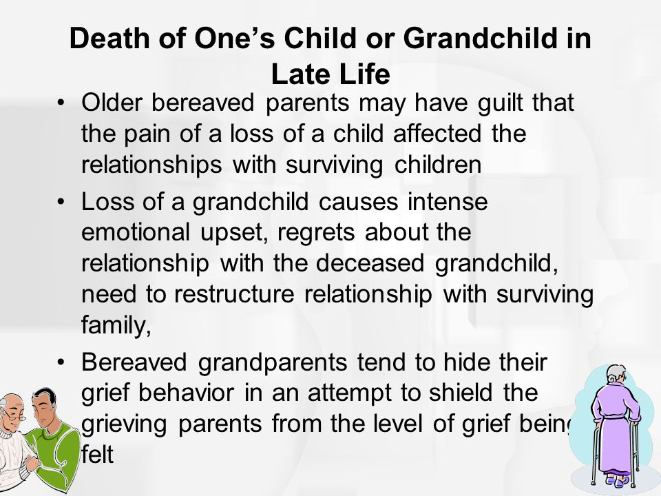 Death of One's Child or Grandchild in Late Life