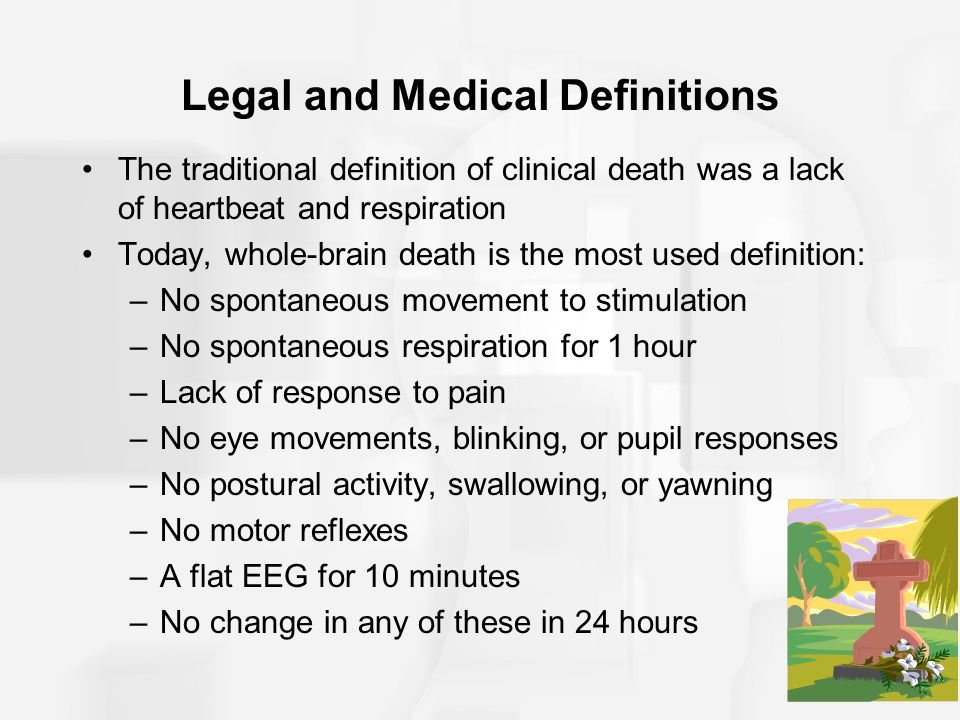 Legal and Medical Definitions