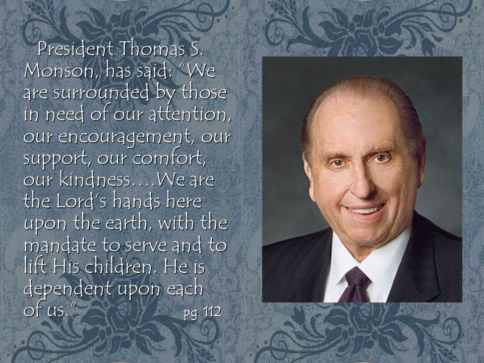 President Thomas S.