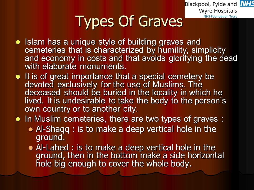 Types Of Graves