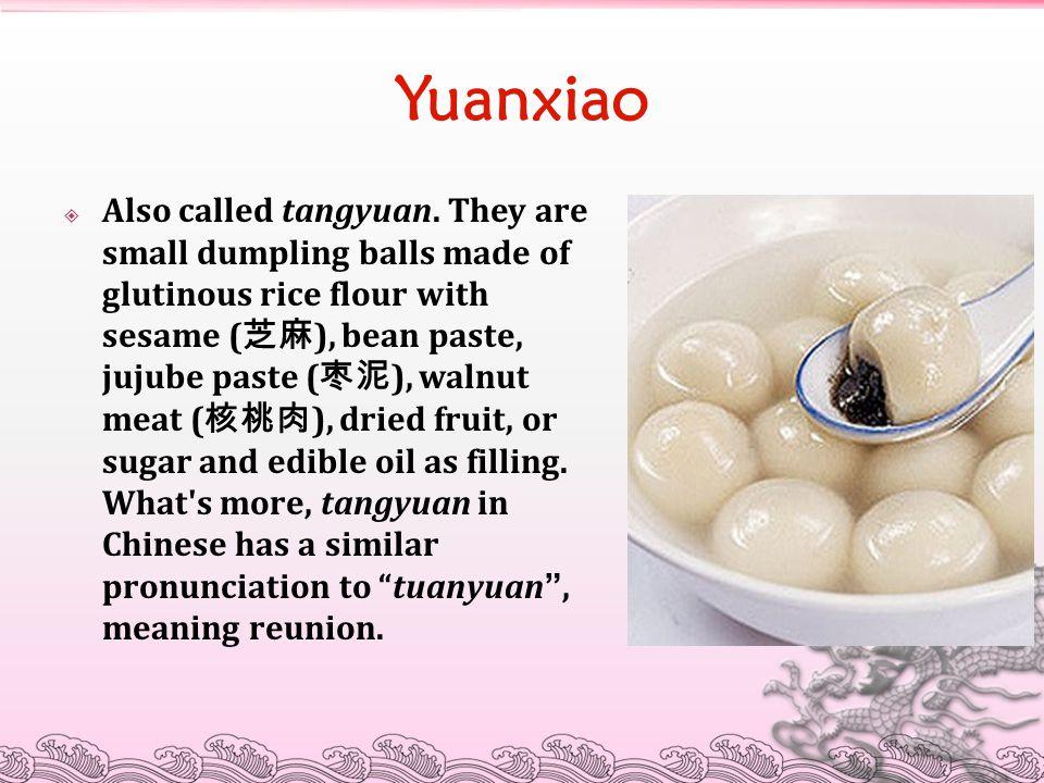 Yuanxiao