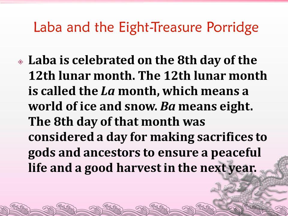 Laba and the Eight-Treasure Porridge