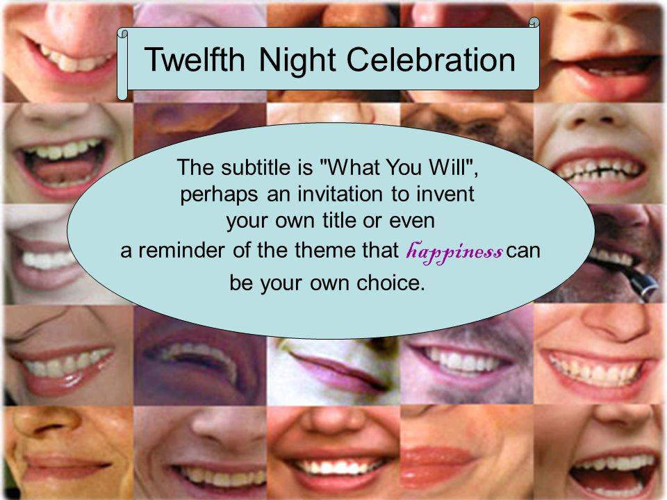 Twelfth Night Celebration