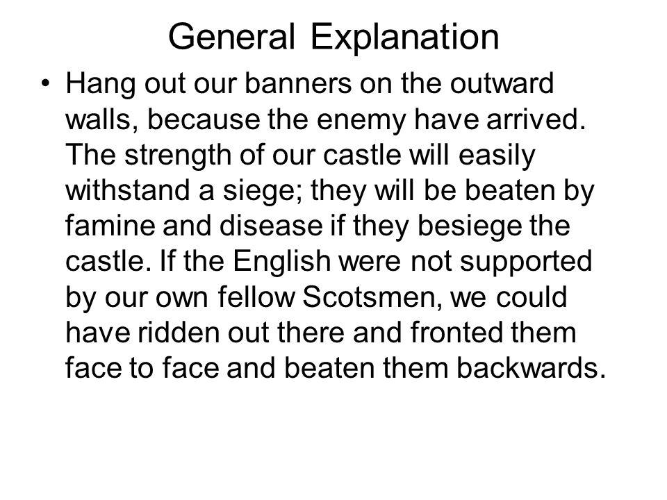 General Explanation