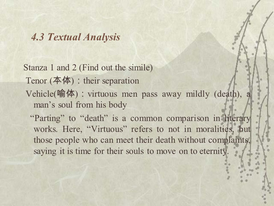 4.3 Textual Analysis