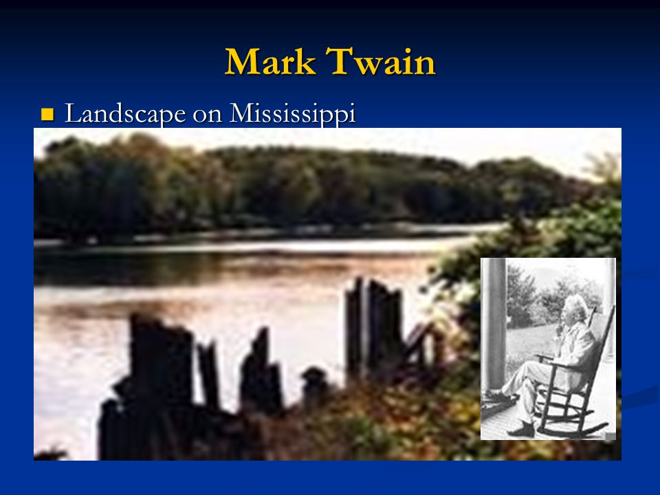 Mark Twain Landscape on Mississippi