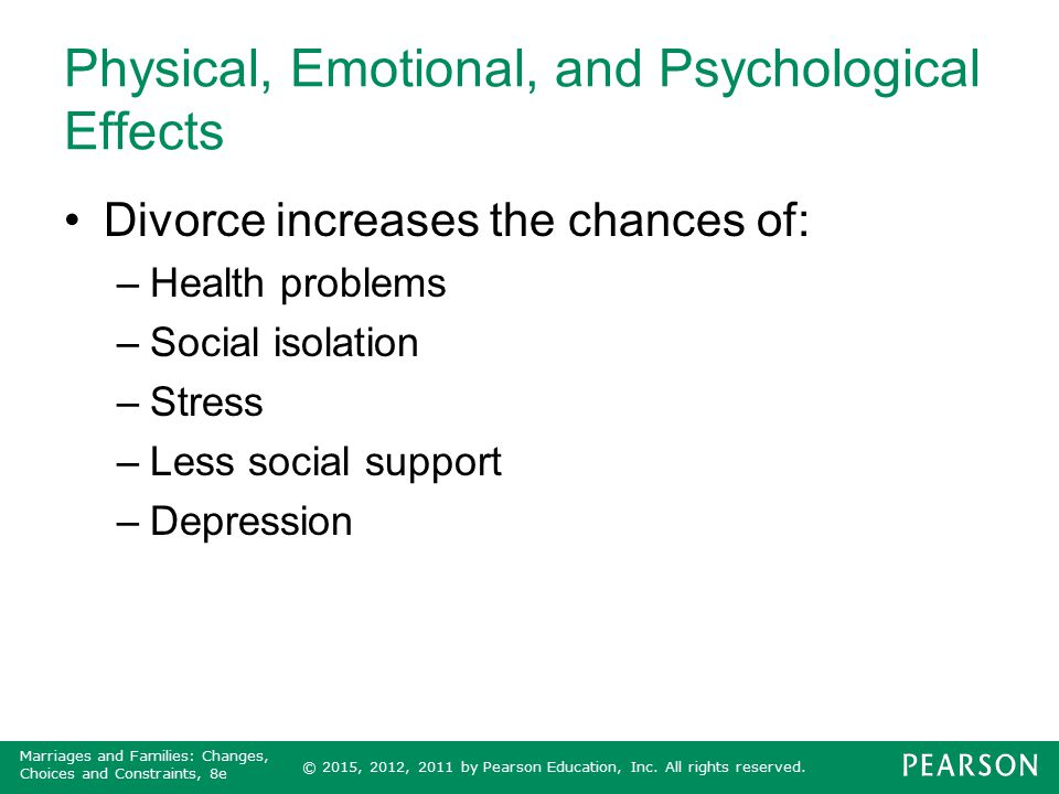 Physical, Emotional, and Psychological Effects