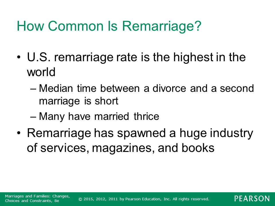 How Common Is Remarriage