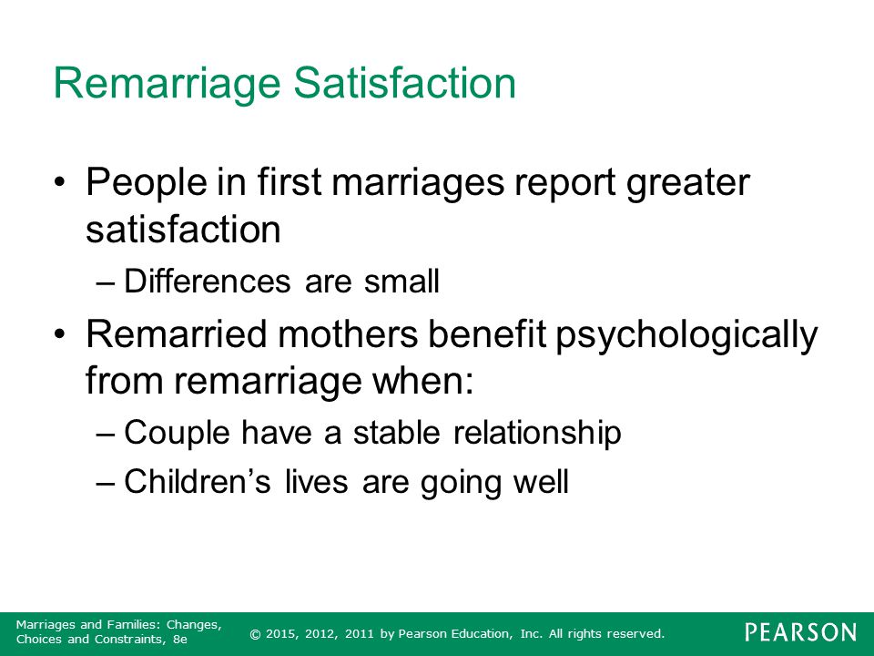 Remarriage Satisfaction