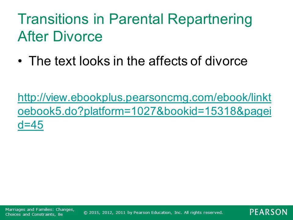 Transitions in Parental Repartnering After Divorce