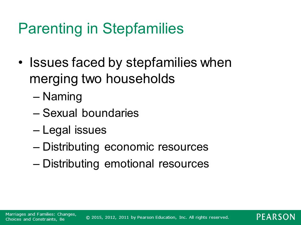 Parenting in Stepfamilies