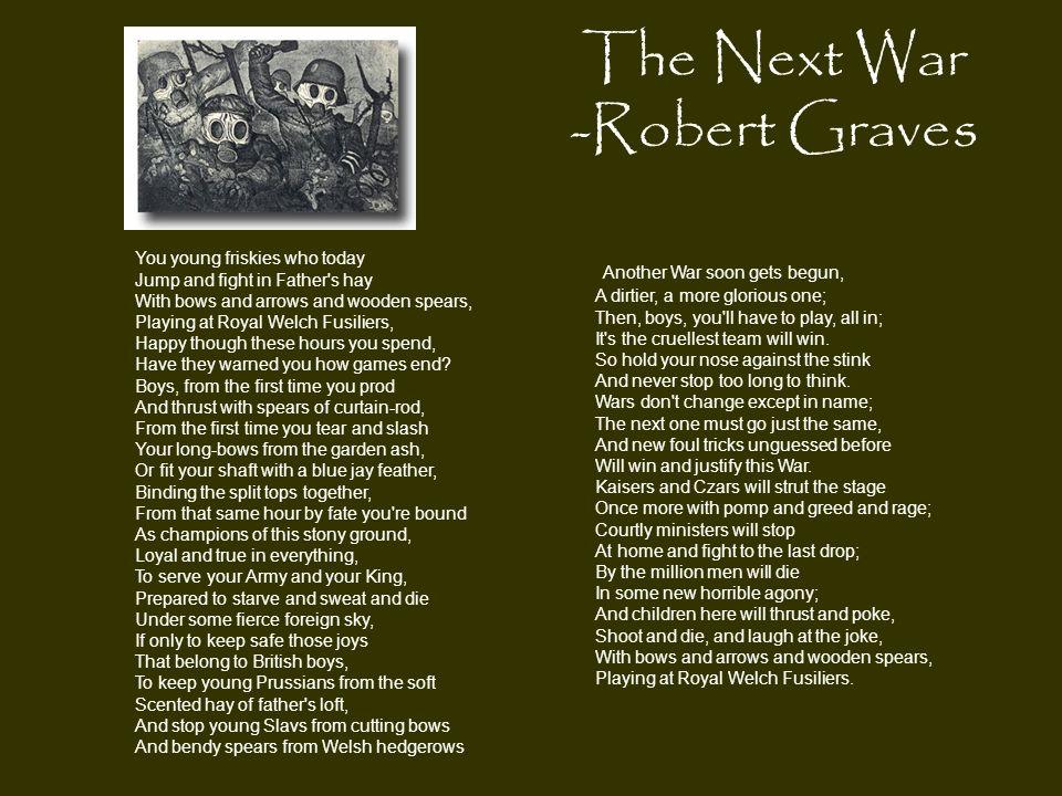 The Next War -Robert Graves
