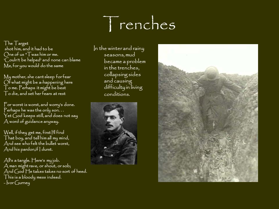 Trenches The Target.