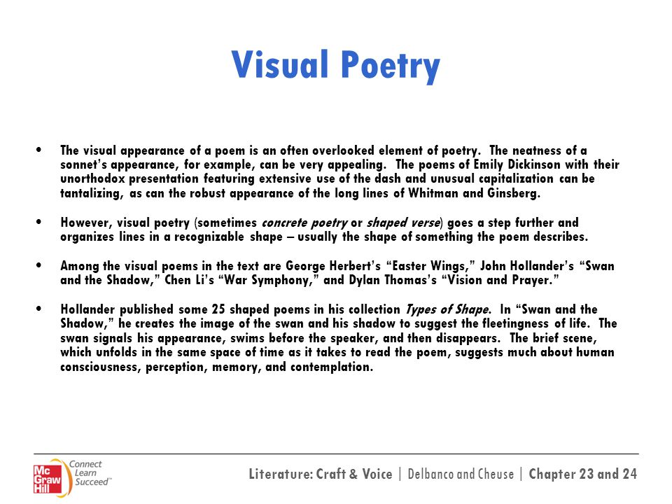 Visual Poetry