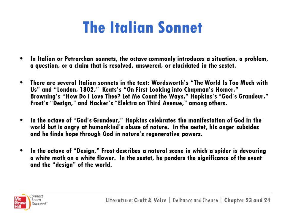 The Italian Sonnet