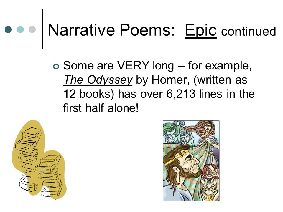 Narrative Poems: Epic continued