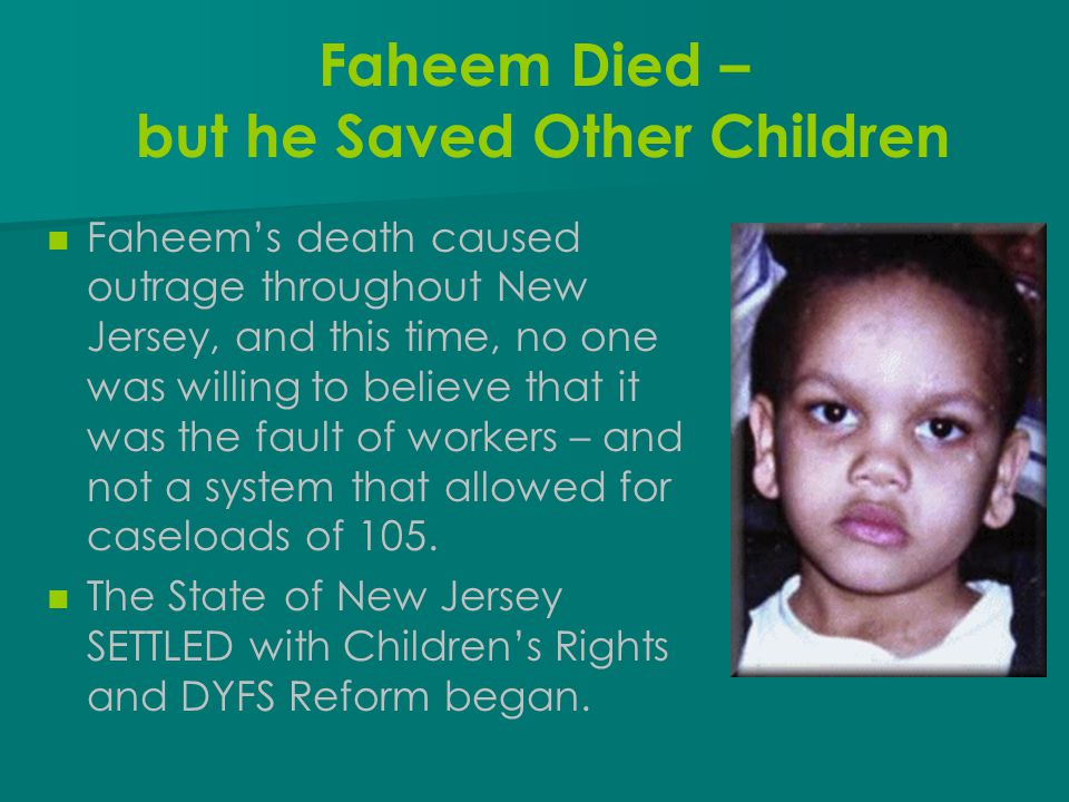 Faheem Died – but he Saved Other Children
