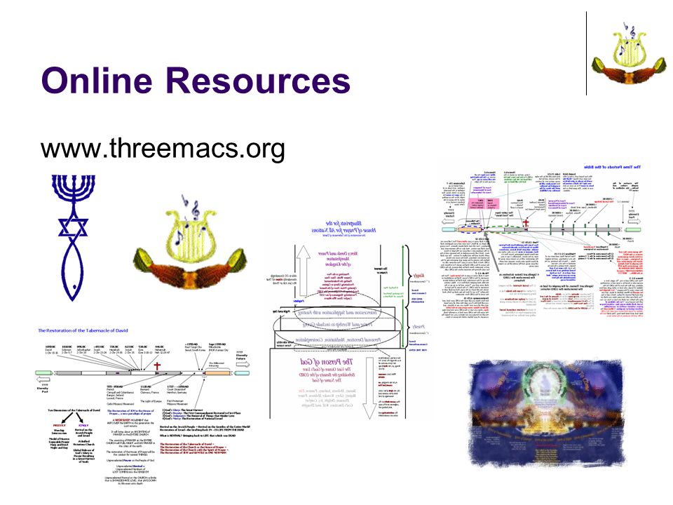 Online Resources www.threemacs.org